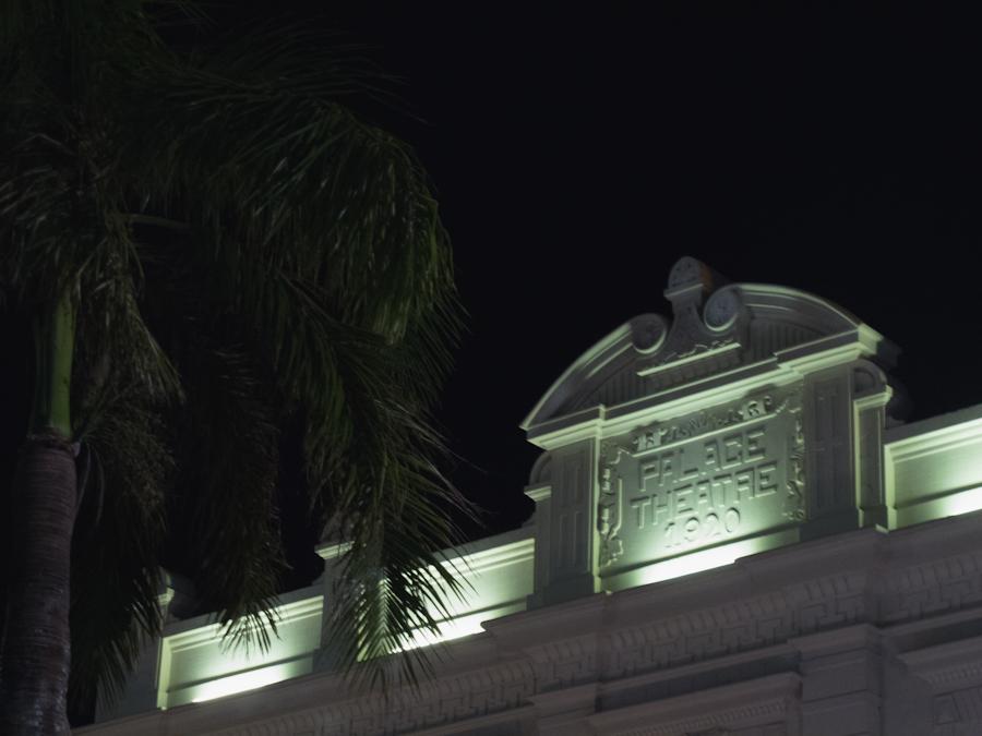 Fachada del Cine Palace en Santa Cruz de la Sierra. Foto