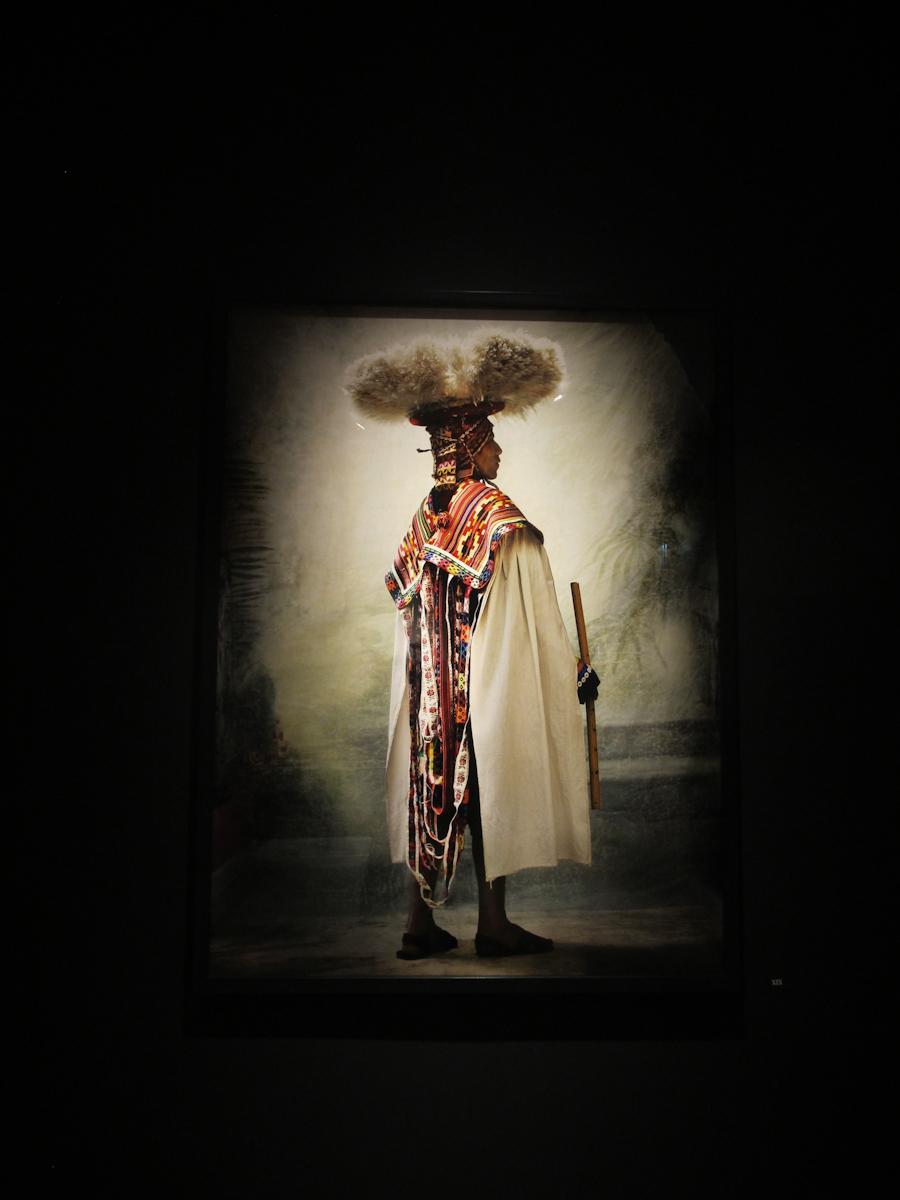 Parte de la muestra 'Alta moda' sobre trajes típicos del Cusco. Foto