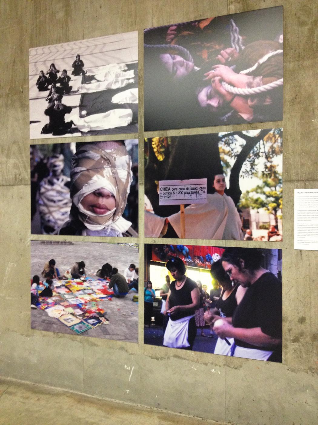 Fotografías de m.a.m. - mujeres artistas en movimiento (Uruguay). Foto