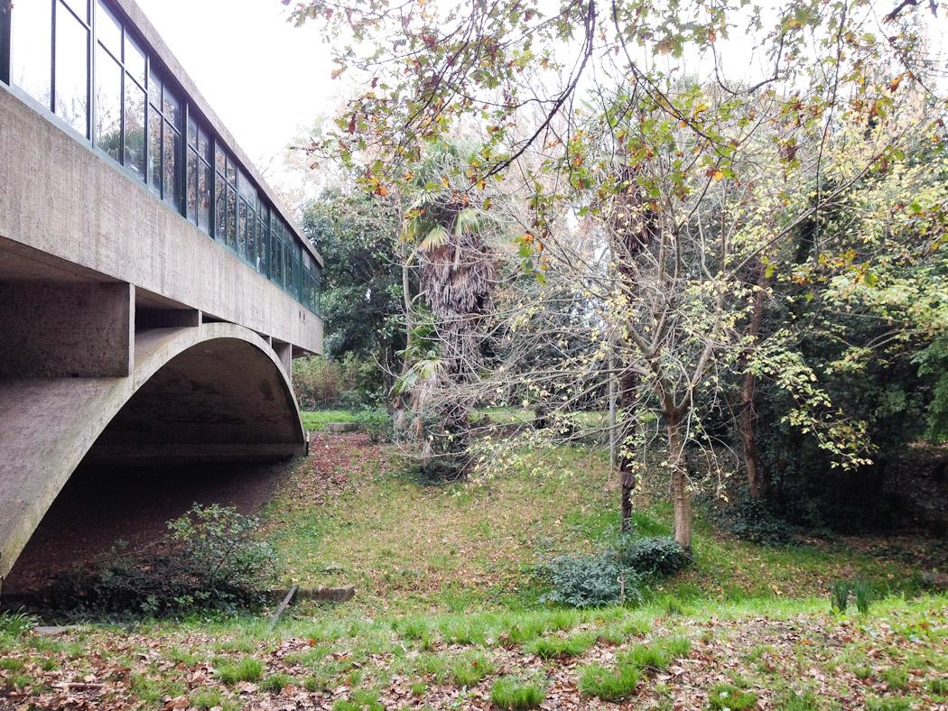 Casa del arroyo o Casa del puente de Amancio Williams en 2014. Foto